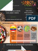 Gatronomia Del Ecuador