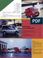 Opel Vivaro 2 Prospekt