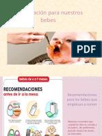 Alimentación Para Nuestros Bebes