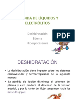 Pérdida de Líquidos y Electrólitos
