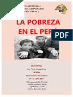 La Pobreza en El Perú