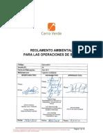 Anexo B - Reglamento Ambiental Para Las Operaciones de SMCV V6