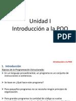 Unidad 1 Introducción a La POO