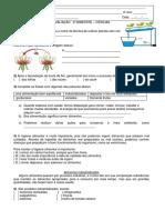 AVALIAÇÃO  DE CIÊNCIAS. docx