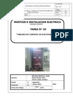 10. Tablero de Control de Electrobomba