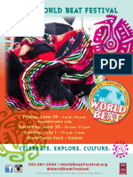 World Beat Festival Program
