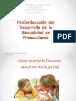 Taller Desarrollo Sexualidad en Pre escolares