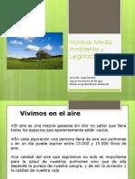 Normas Medio Ambiente y Legislación.pptx