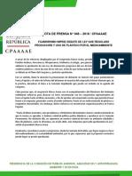 NOTA DE PRENSA N° 048 - 2018_CPAAAAE .pdf