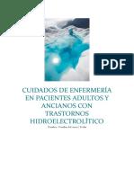 Cuidados de Enfermería en Pacientes Adultos y Ancianos Con Trastornos Hidroelectrolítico