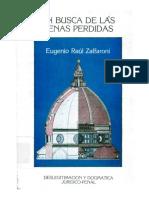 Zaffaroni, Eugenio Raul - En Busca de las Penas Perdidas.pdf