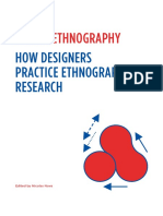Beyond Design Ethnography How Designers
