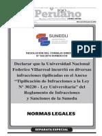 Declarar Que La Universidad Nacional Federico Villarreal Inc Resolucion No 022 2016 Suneducd 1398356 1 (1)