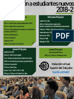 Inducción a Estudiantes Nuevos 2018-2