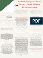 Lista de Alimentos - Paleo Autoimune