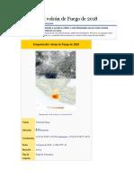 Erupción Del Volcán de Fuego de 2018