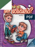 Qués Es Ser Solidario