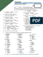 Examen Mensual de Raz. Verbal - Galileo Galilei - Iib