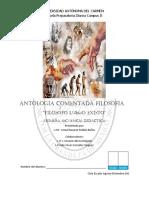 Cuaderno y Antologia Filosofia