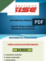 Matematica Financiera 3 - Sise