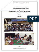 Report of ZPHS School Activities 2017-2018 - Amar