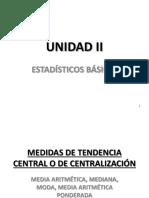 1apuntes Medidas de Tendencia Central o de Centralización