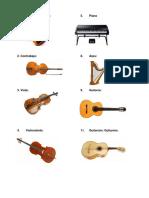Instrumentos Solo Imagenes