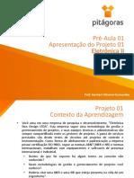 Eletrônica II - 01 Pré Aula - Situação Problema Projeto 01 (1).pdf