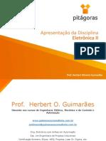 Eletrônica II - 01 Aula - Apresentação Disciplina (2).pdf