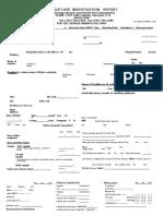 Dengue Case Report Form Cdc 56 31