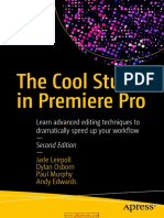 The Cool Stuff in Premiere Pro, 2nd Edition