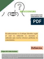 PRESEMINARIO3_REDUCCIONISMO