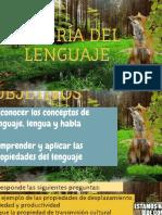 TEORÍA DEL LENGUAJE    - SAUSSURE