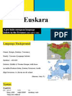 Basque for LING 461