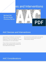 aac devices and interventions - gill wright and garcia