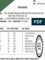 Formula Pol PTAR