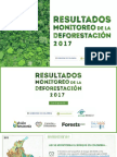 Informe deforestación en colombia del IDEAM