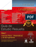 Ingreso a Licenciatura-Guia Resuelta- Area 1