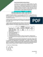 Examen Parcial de Análisis de Sistemas Mineros 1- 2