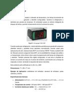 Informe Refrigueracion FULL GAUGE 512E 2HP