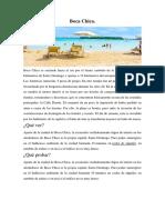Boca Chica Guia Turistica