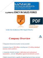 Competency in Sales team