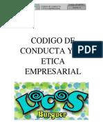 Codigo de Conducta y de Etica Empresarial