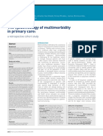 The Epidemiology of Multimorbidity in Primary Care a Retrospective Cohort Study