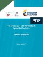 Hepatitis c Cronica - Guia Practica Clinica
