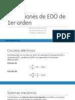 Ecuaciones Diferenciales Clase 11