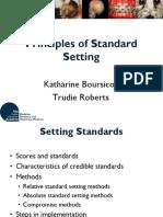 51 Principles of Standard Setting