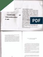 Cuadernillo Digitalizado de Educacion Civica Tercer Ano 2016