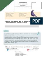 Guía Los Sustantivos