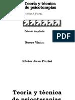 Fiorini Teoria y Tecnica de Psicoterapias Cap. 10